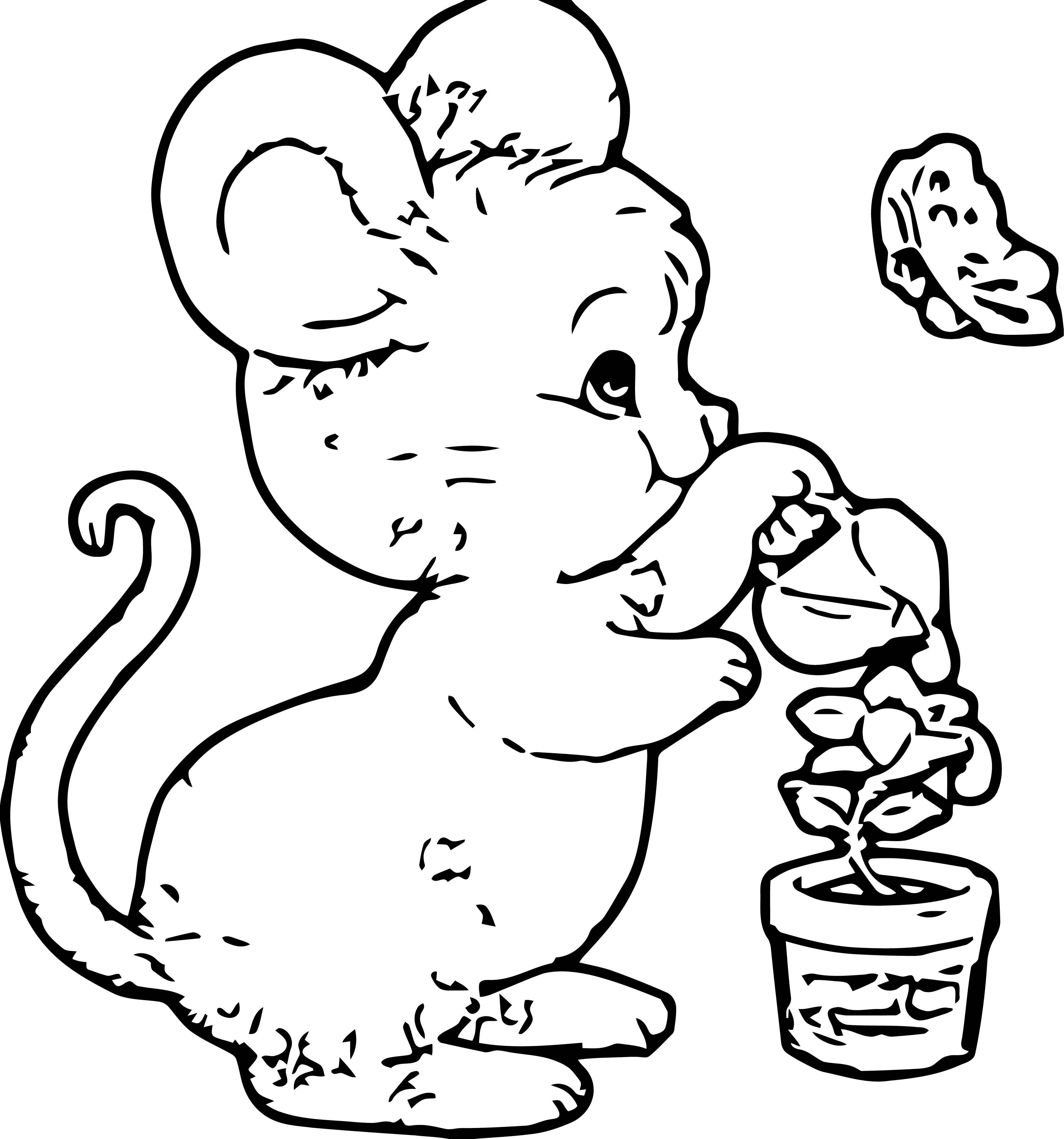 Mouse Jpeg Coloring Page 124