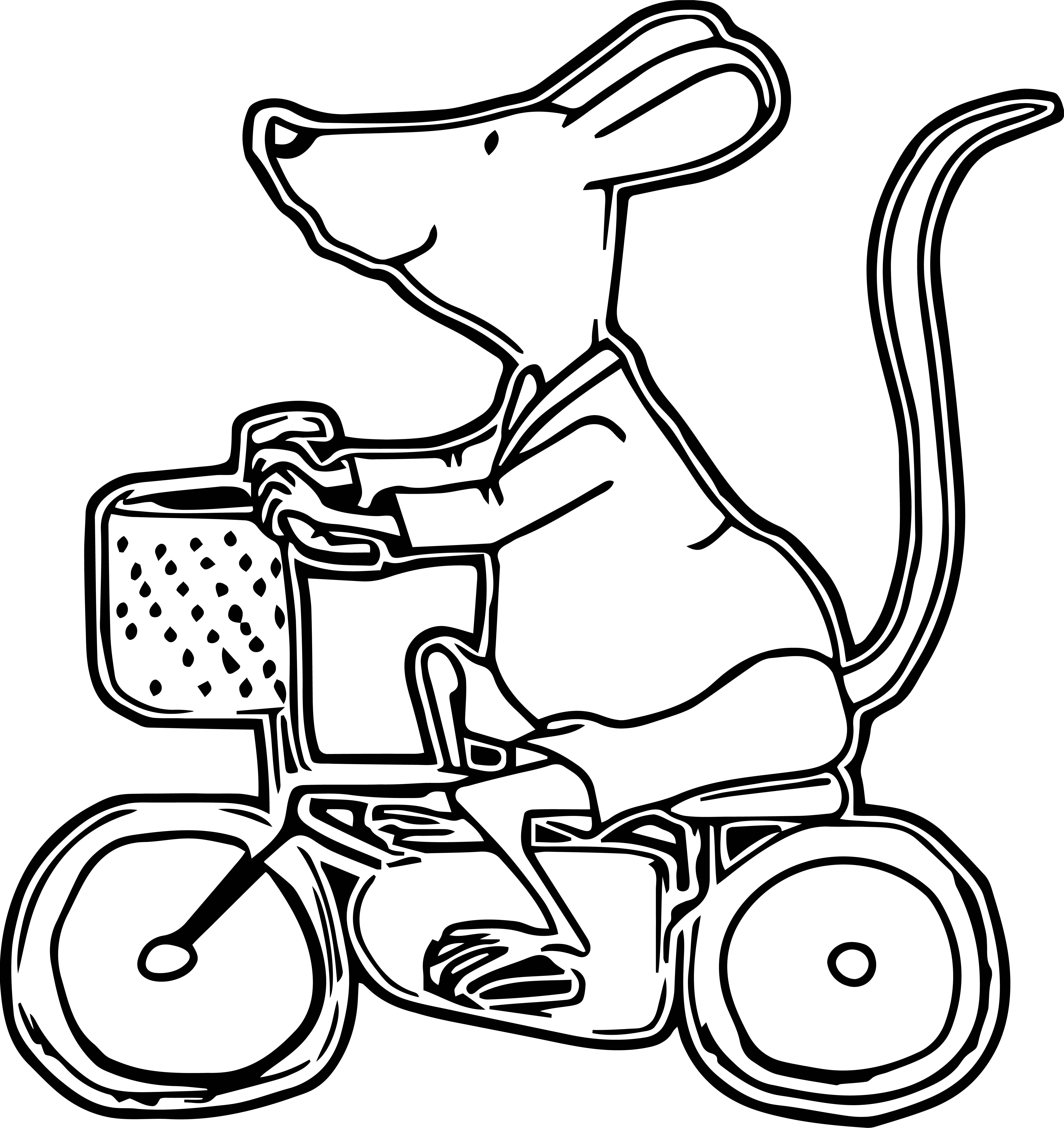 Mouse Jpeg Coloring Page 14