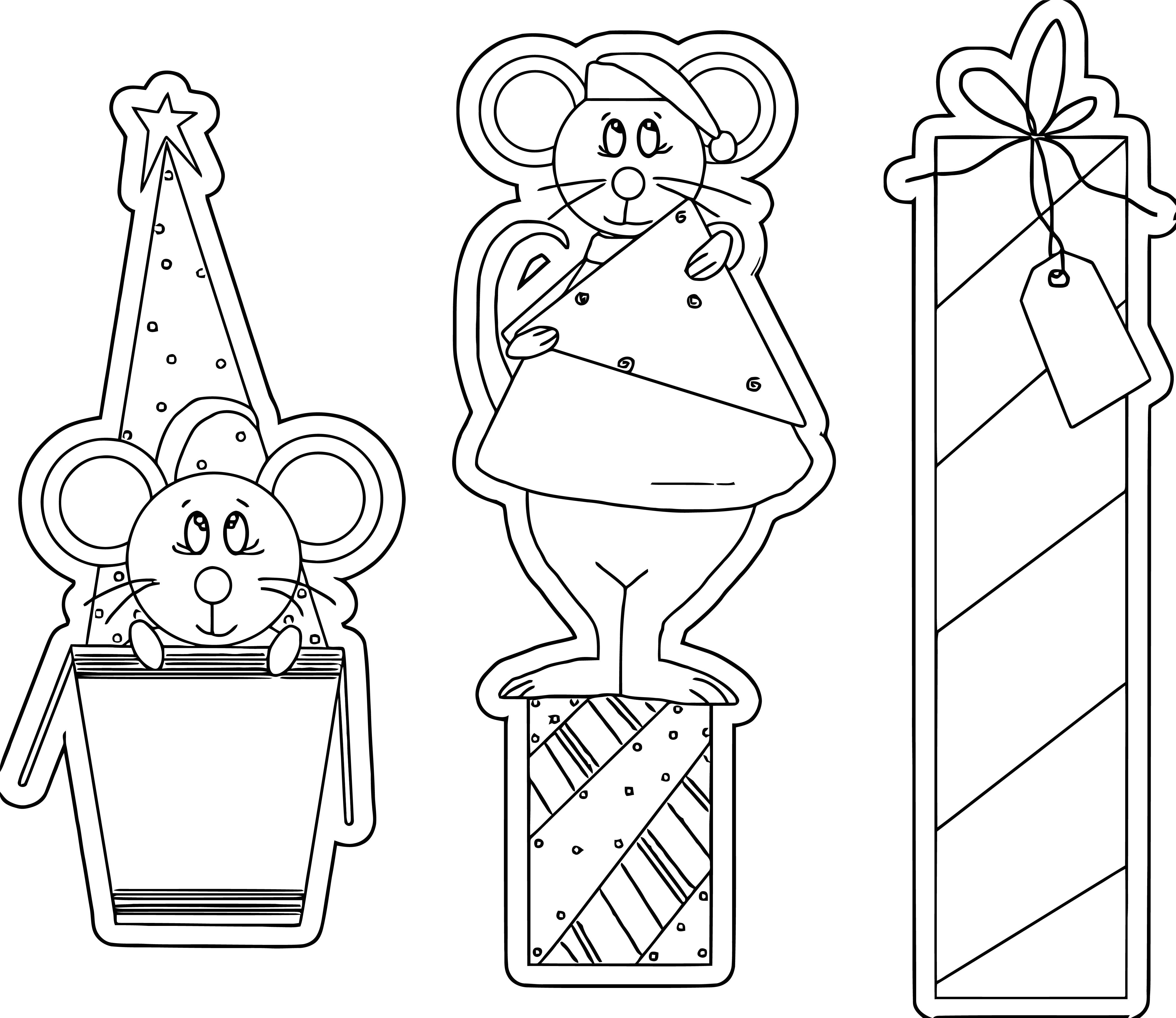 Mouse Jpeg Coloring Page 19