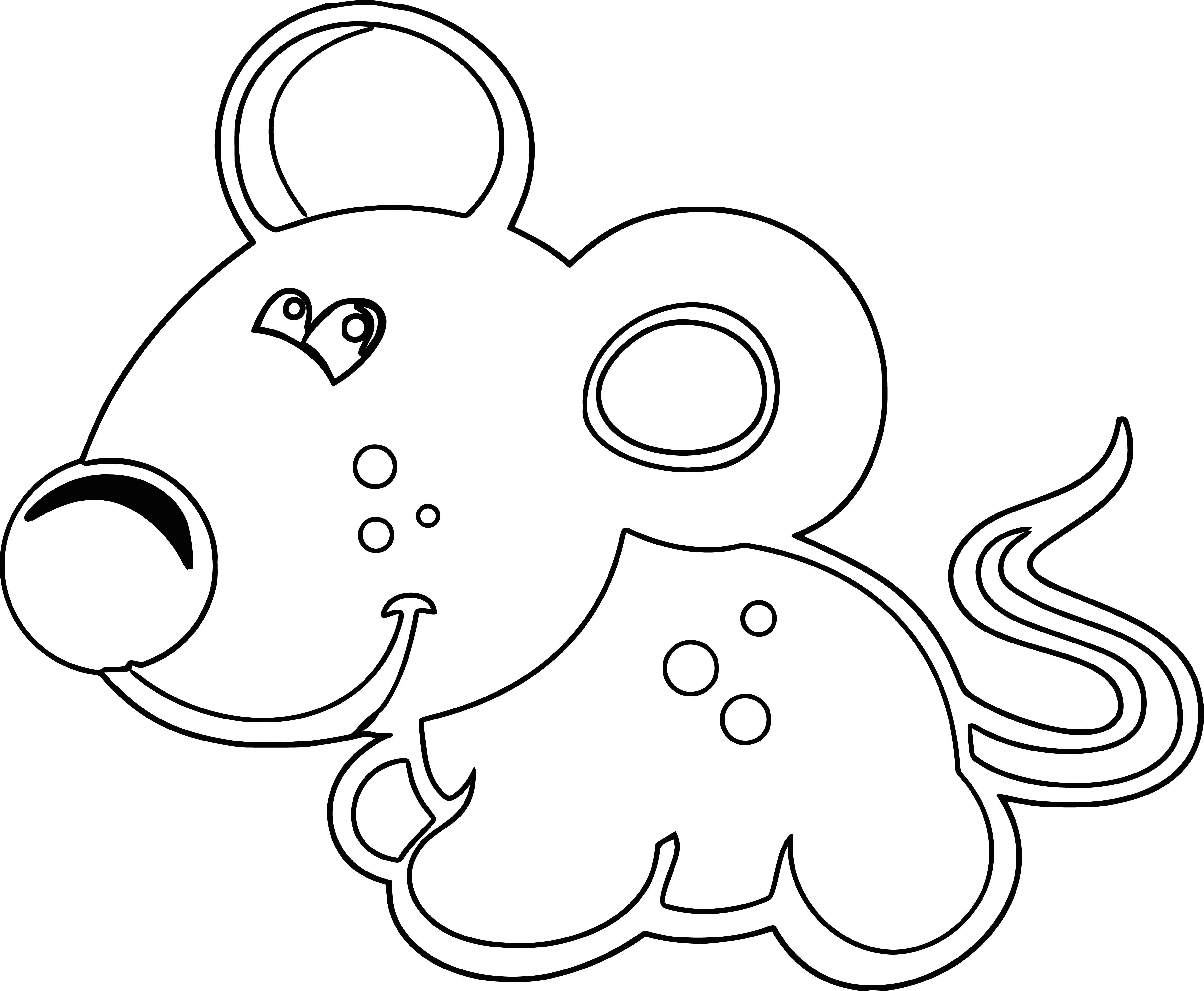 Mouse Jpeg Coloring Page 20