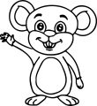 Mouse Jpeg Coloring Page 34