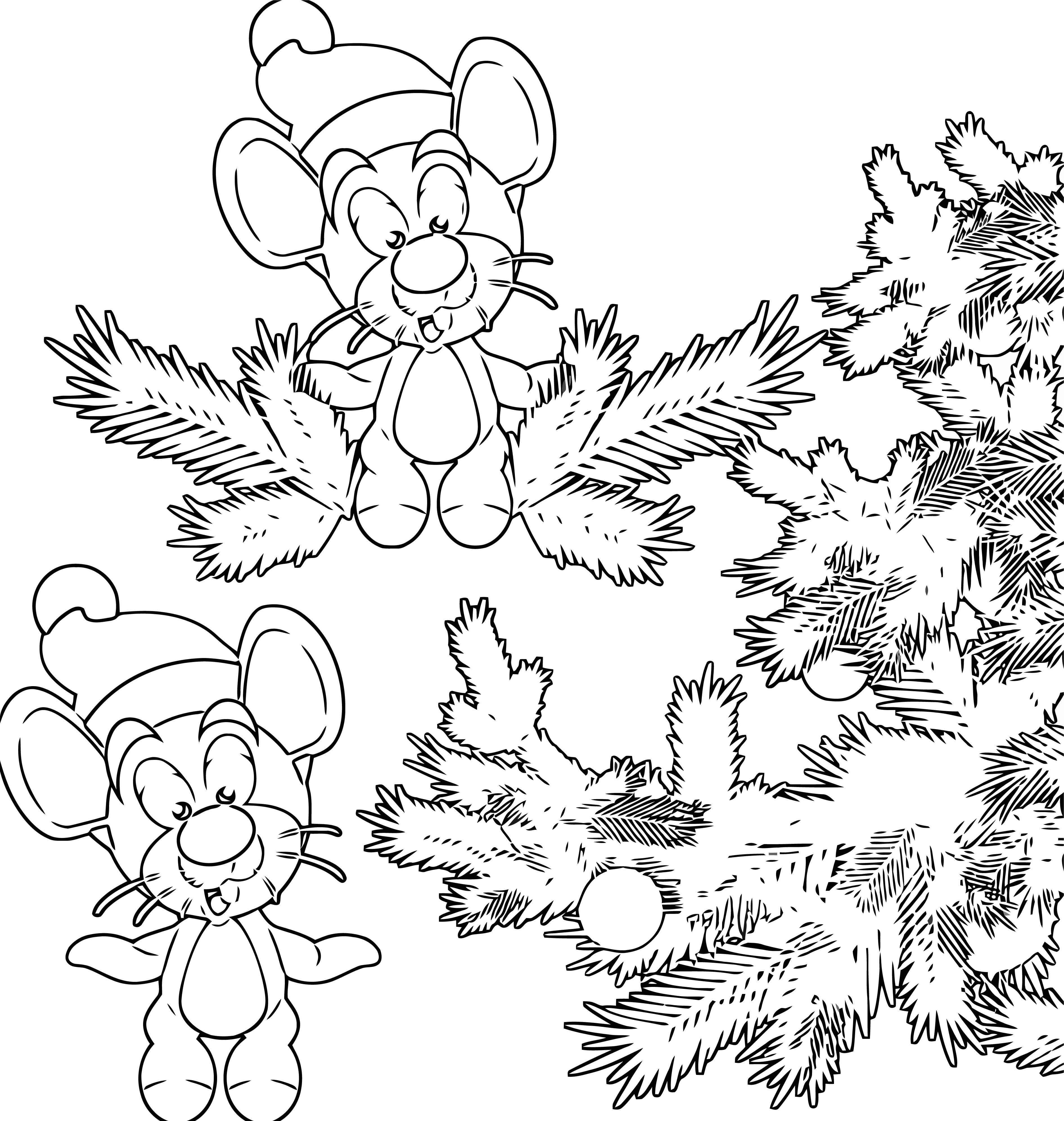 Mouse Jpeg Coloring Page 41