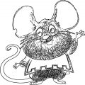 Mouse Jpeg Coloring Page 44