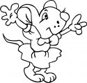 Mouse Jpeg Coloring Page 54