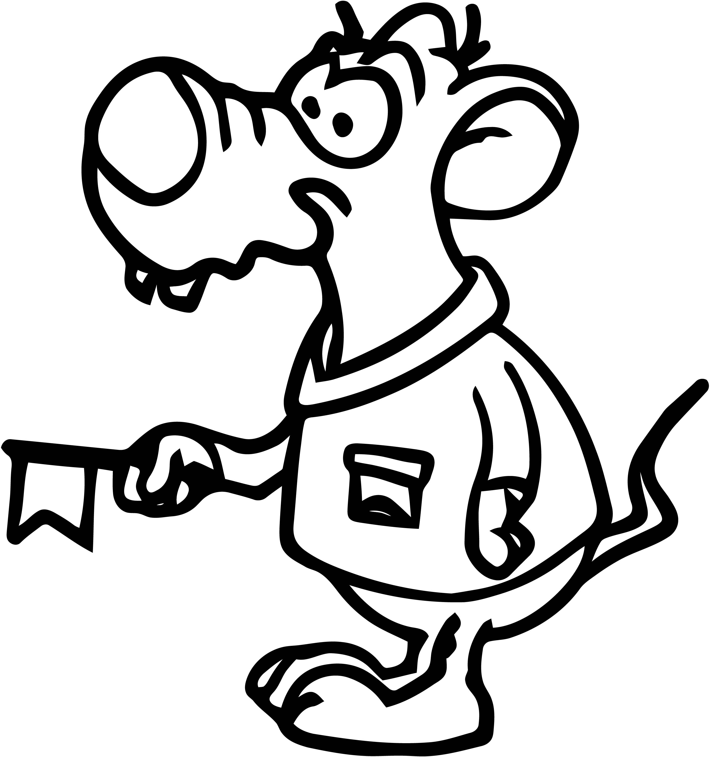 Mouse Jpeg Coloring Page 62