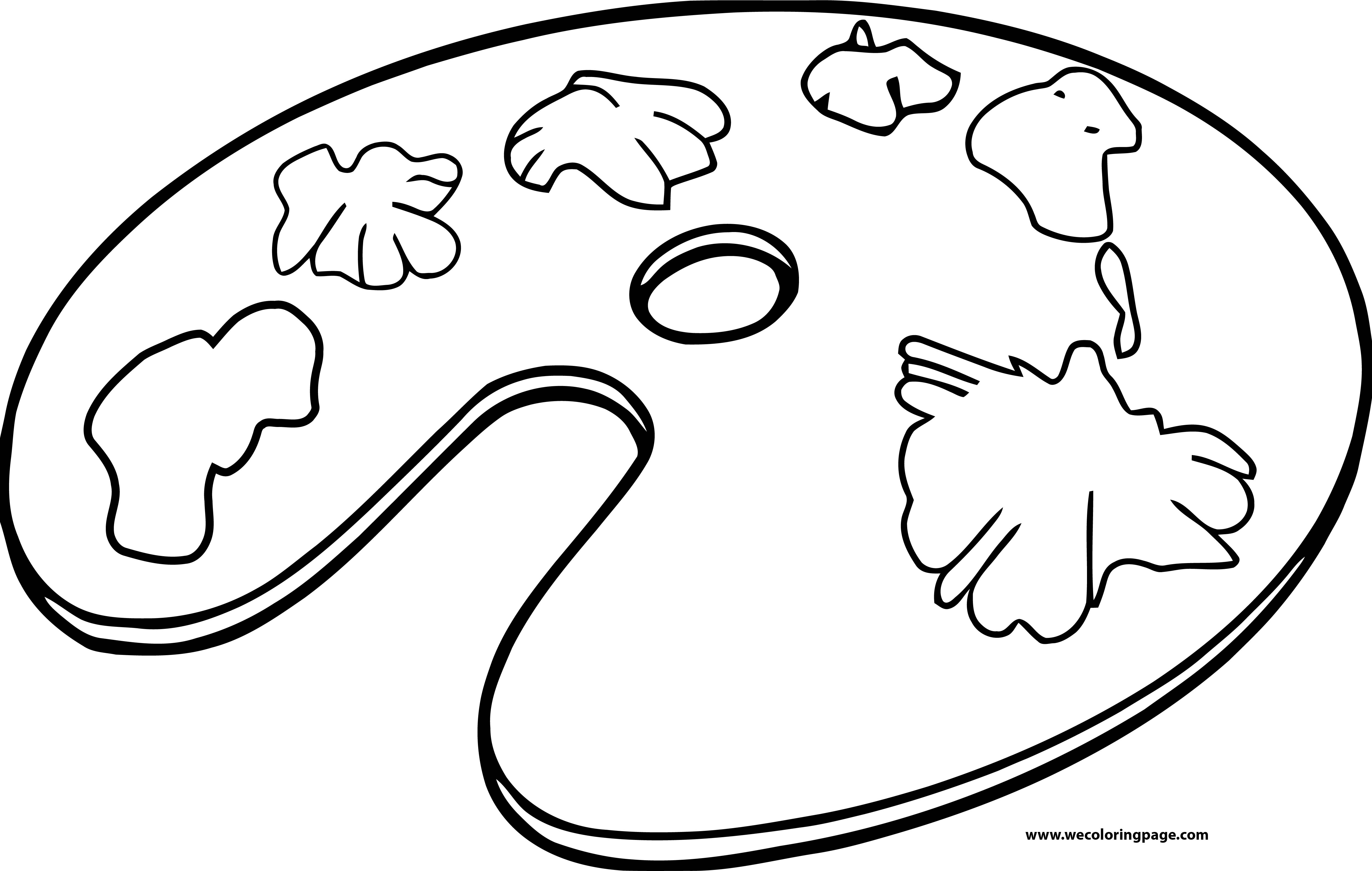 Painter Coloring Page 11