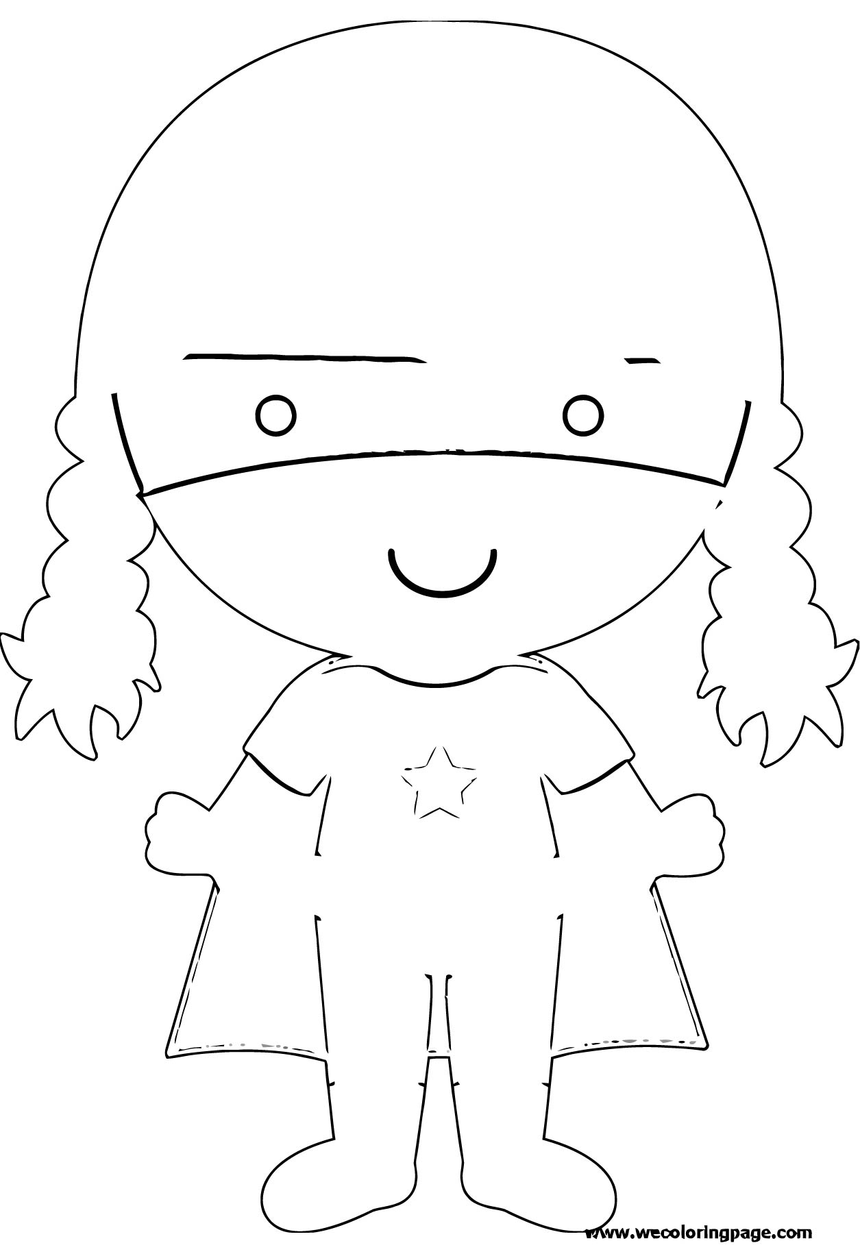 Painter Coloring Page 19