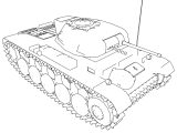 Panzer Ii Ausf 5 Military Tank Coloring Page