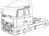 Volvo Fh16 Coloring Page