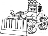 Fire And Rescue Truck Coloring Page