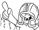 Helmut Coloring Page