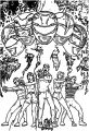 MMPR Rangers Mighty Morphin Power Rangers Coloring Page