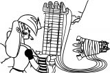 Mighty Magisword Vambre Music Guitar Coloring Page