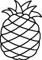 Pineapple Coloring Page WeColoringPage 18