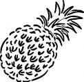 Pineapple Coloring Page WeColoringPage 30