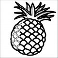 Pineapple Coloring Page WeColoringPage 53