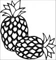 Pineapple Coloring Page WeColoringPage 58