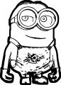 Minion Good Coloring Page