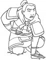 Mulan Khan Little Brother Coloring Page 12