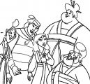 Mulan Yao Ling Chien Po Coloring Page 1