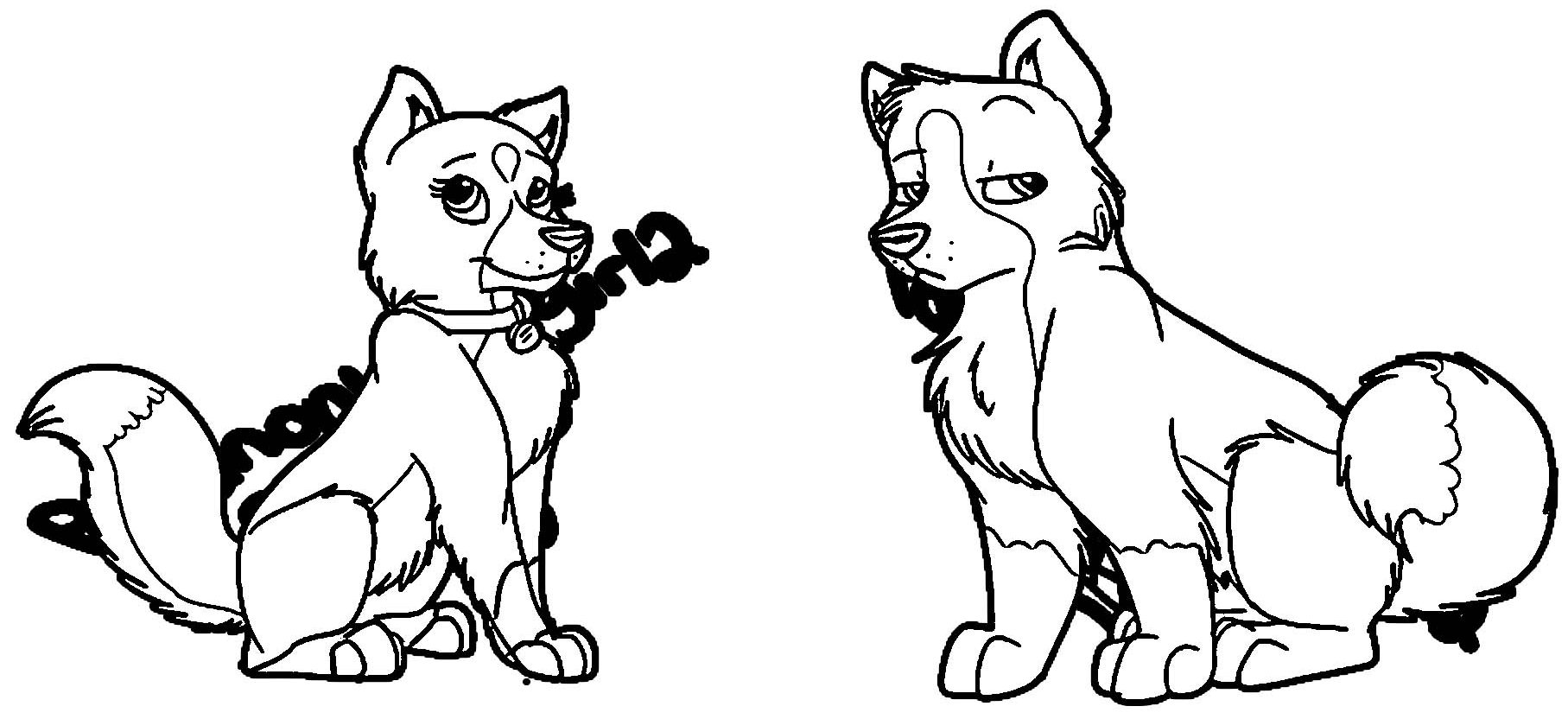 Meet The Huskies Pokemonluvergirl Dglgw Coloring Page