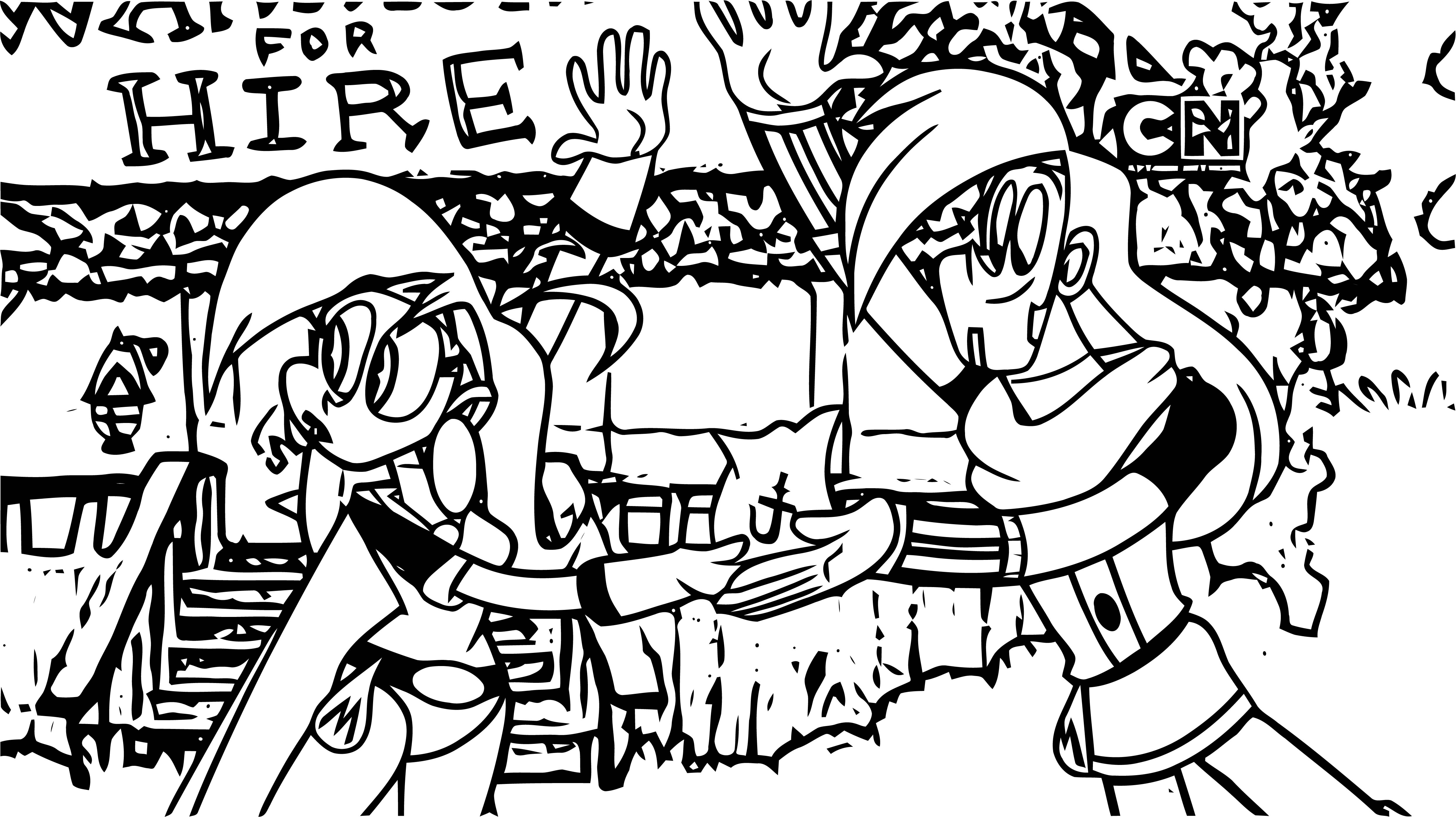 Mighty Magiswords Coloring Pages 06