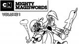 Mighty Magiswords Coloring Pages 07