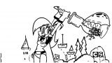 Mighty Magiswords Coloring Pages 17