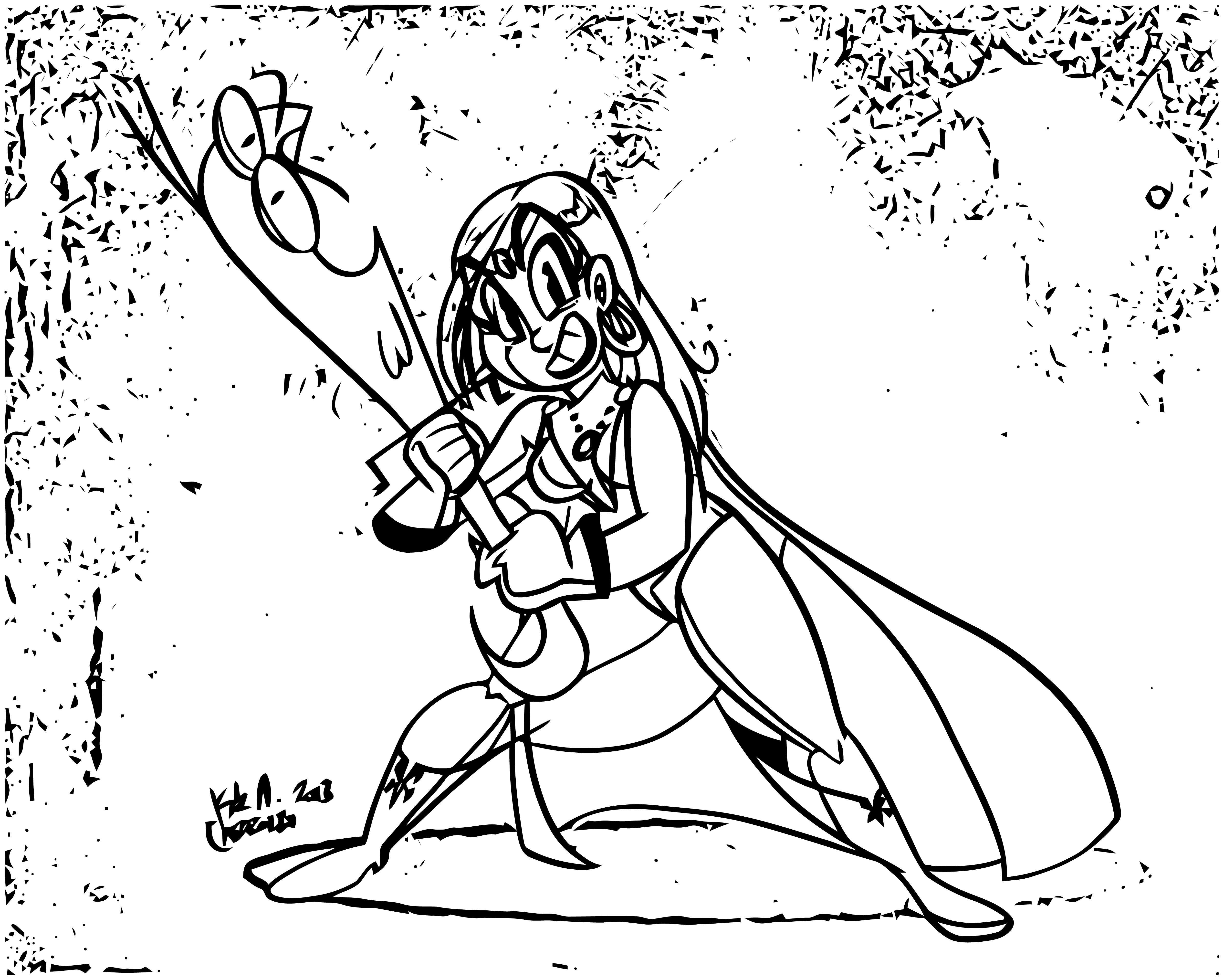 Mighty Magiswords Coloring Pages 21
