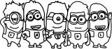 Minions A Crayola Coloring Page