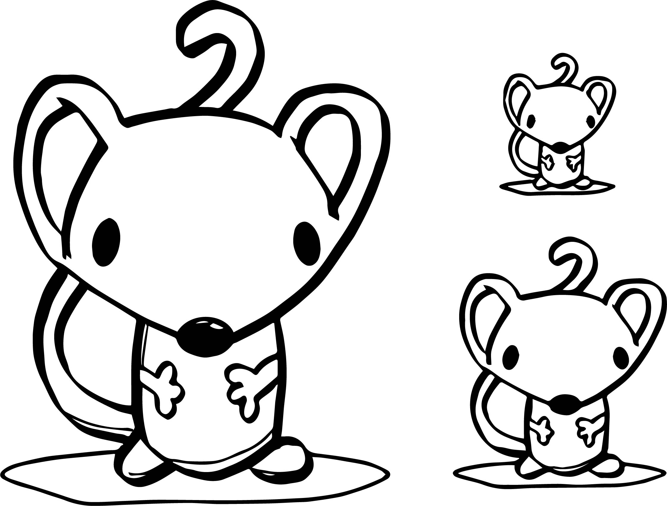 Mouse Coloring Page 53