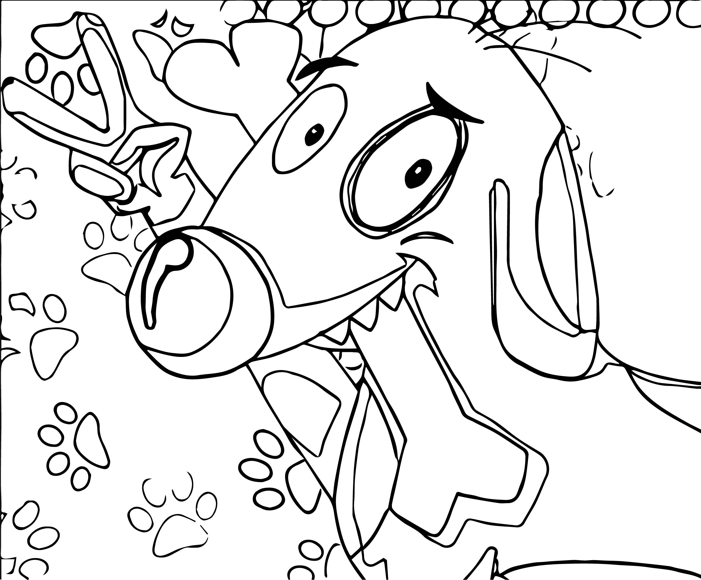 Nick Fan Art Nickelodeon Coloring Page