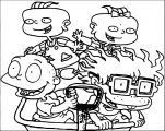 Nickelodeon 4f 4 Web Coloring Page