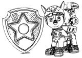 Nickelodeon Paw Patrol Action Ptru Dt Coloring Page