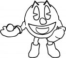 Pacman Coloring Page WeColoringPage 071