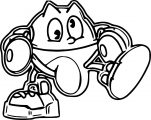 Pacman Coloring Page WeColoringPage 084