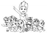 Paw Patrol Pictures Coloring Page