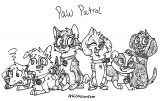 Paw Patrol Thebestbadnewz Ddgm Coloring Page