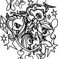 Pony Cartoon My Little Pony Coloring Page 03