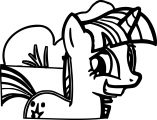 Pony Cartoon My Little Pony Coloring Page 04
