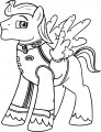 Pony Cartoon My Little Pony Coloring Page 12