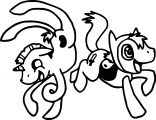 Pony Cartoon My Little Pony Coloring Page 13