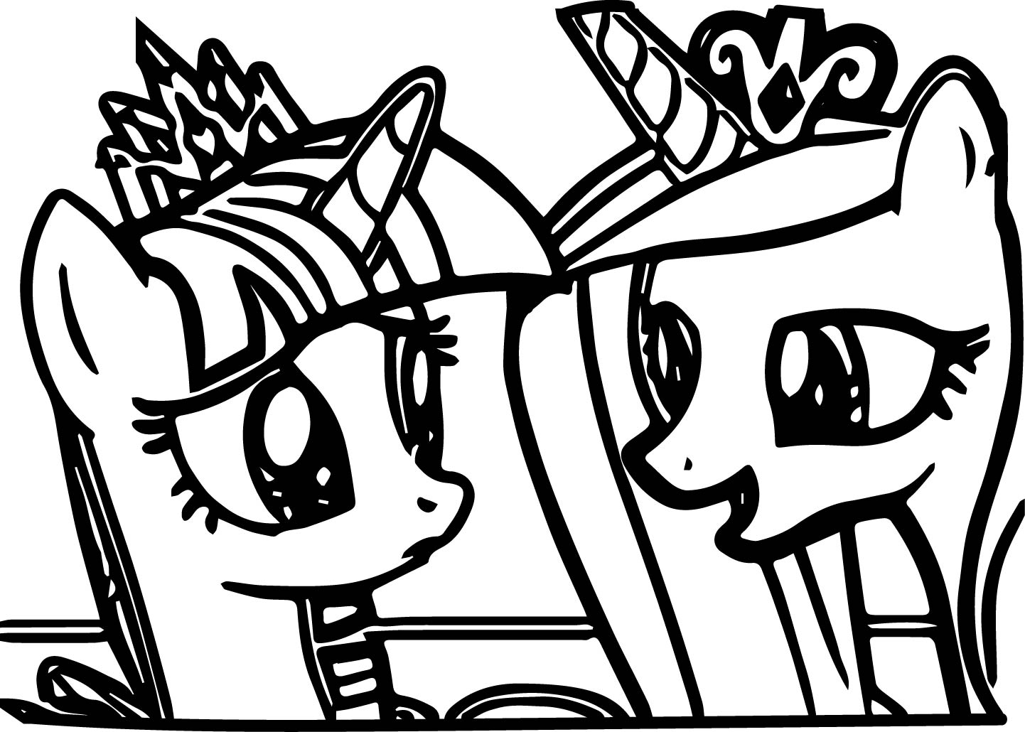 Pony Cartoon My Little Pony Coloring Page 17