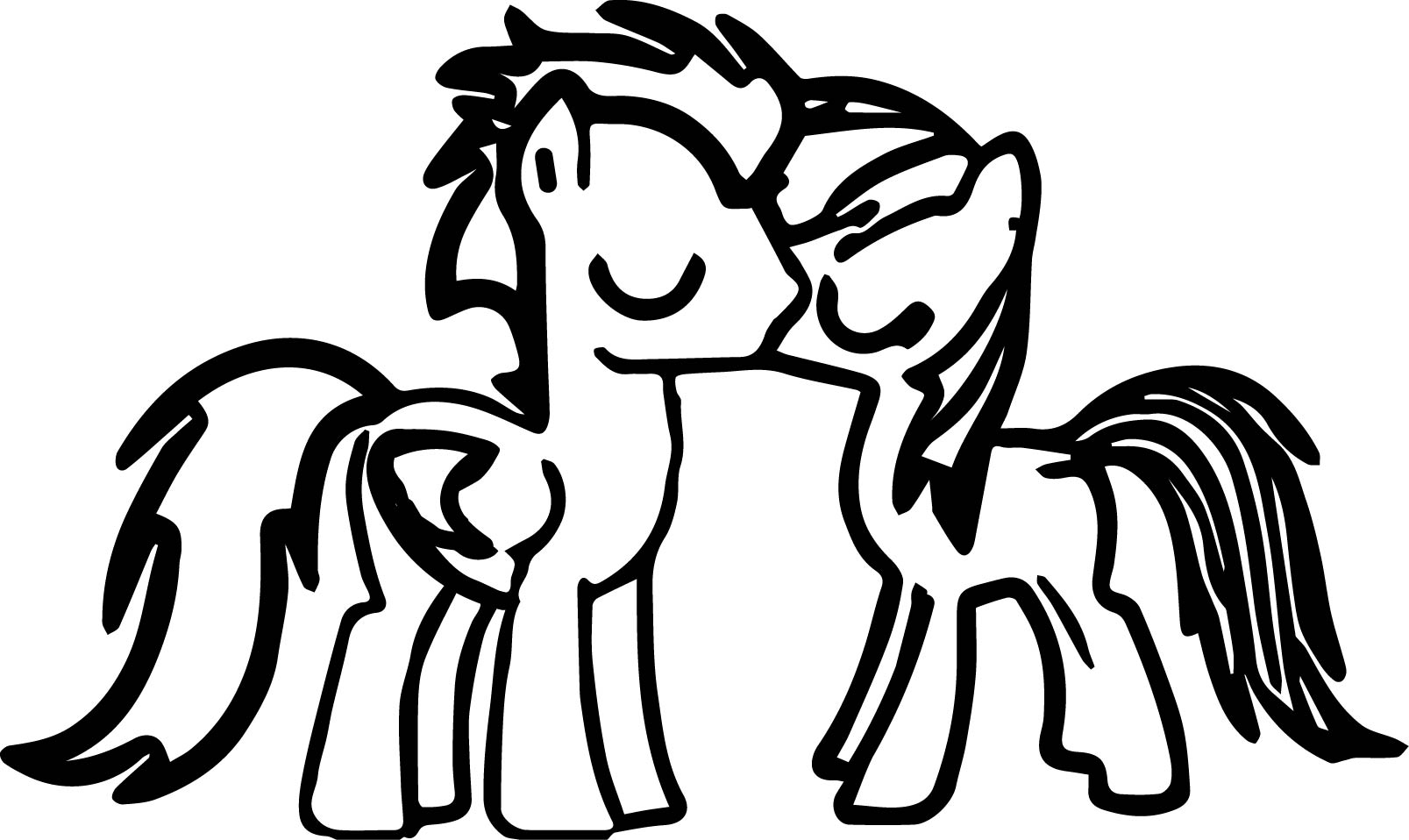 Pony Cartoon My Little Pony Coloring Page 21
