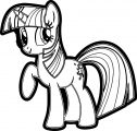 Pony Cartoon My Little Pony Coloring Page 32