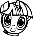 Pony Cartoon My Little Pony Coloring Page 34