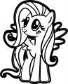 Pony Cartoon My Little Pony We Coloring Page 04