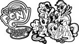 Pony Cartoon My Little Pony We Coloring Page 05