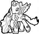 Pony Cartoon My Little Pony We Coloring Page 13