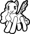Pony Cartoon My Little Pony We Coloring Page 16